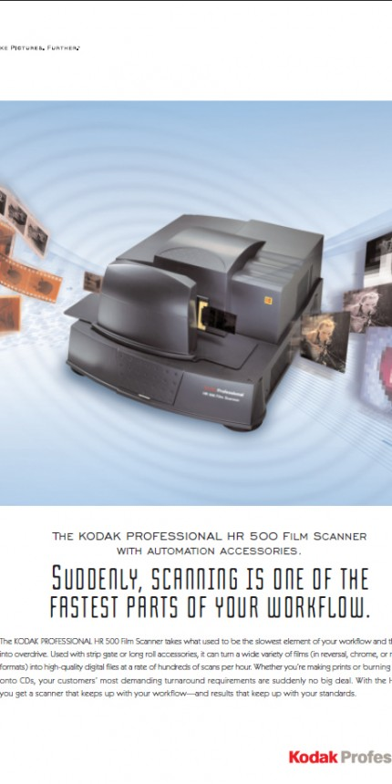 Kodak HR500 Scanner (Embedded software)