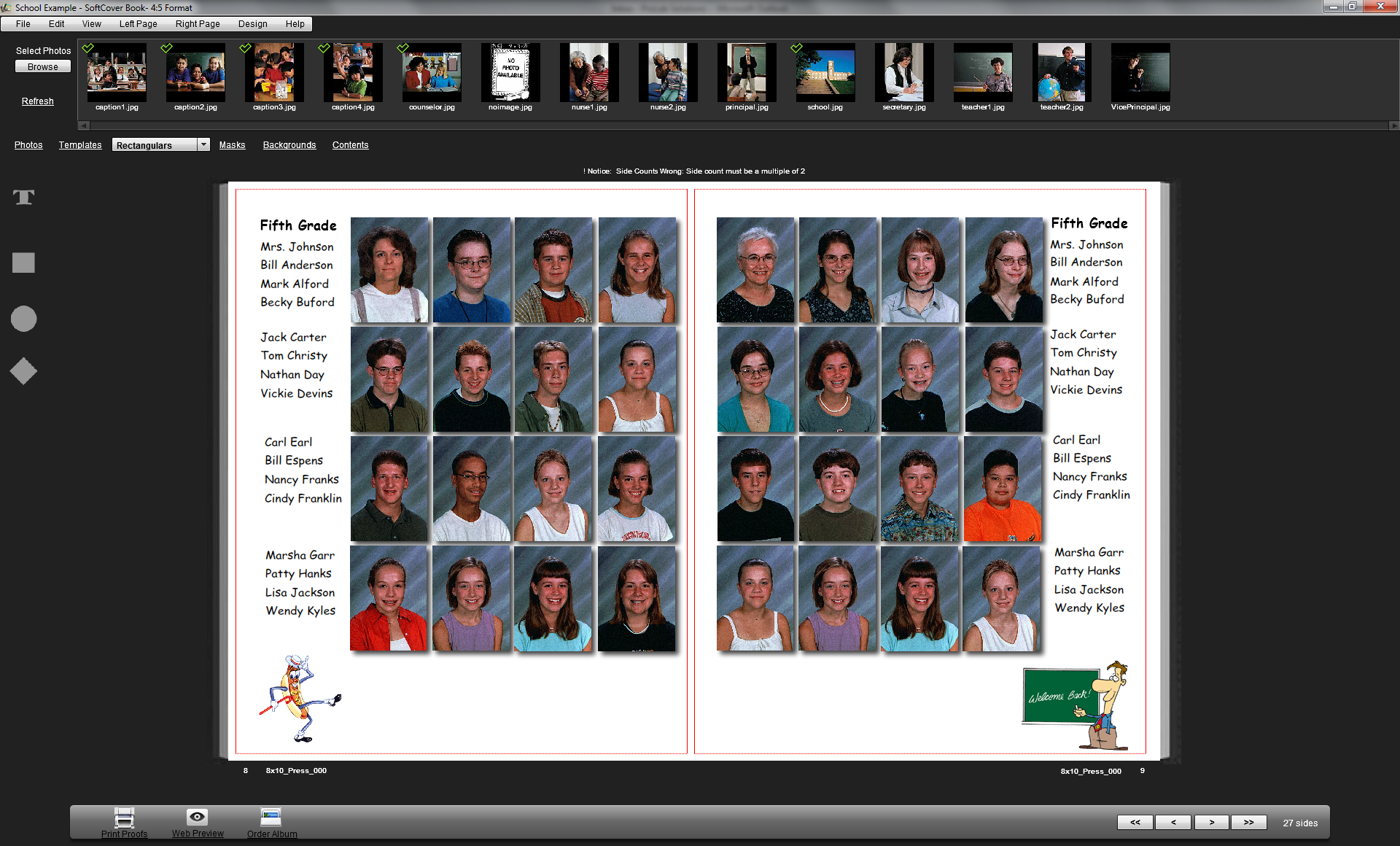 Book editing service yearbook