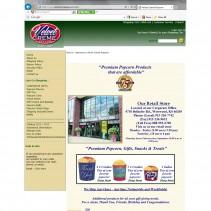 Velvet Cream Popcorn (Web Site with shopping cart)